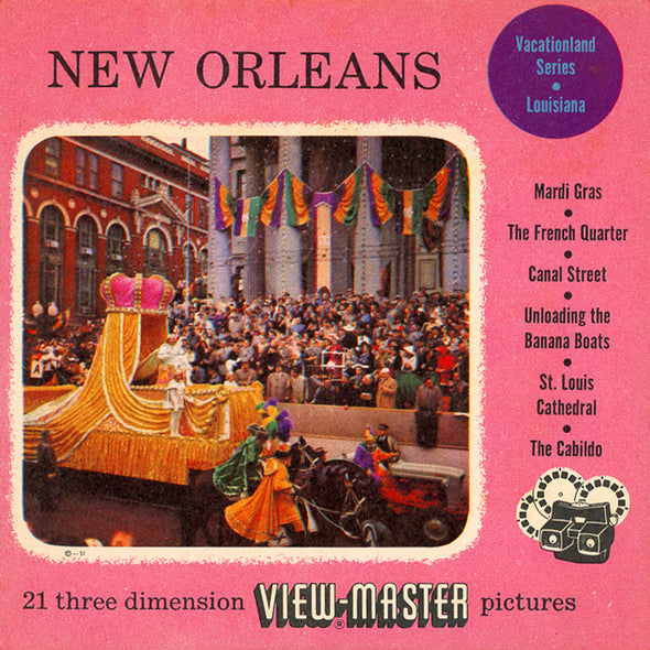 View-Master - Cities - New Orleans - Vacationland Series