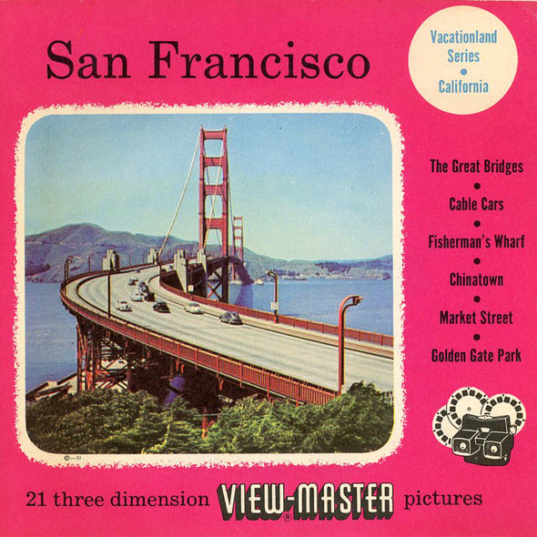 View-Master - Cities - San Francisco - Vacationland Series