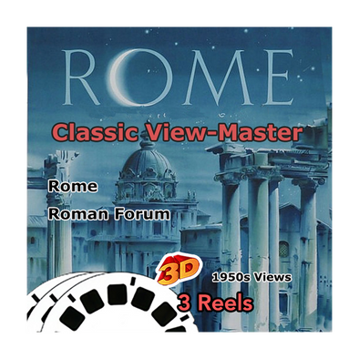 Rome Italy - Vintage Classic View-Master® - 1950s views