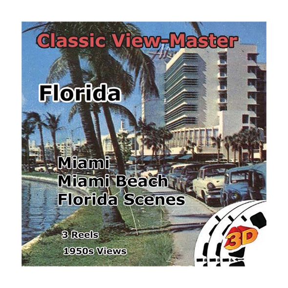 Florida - Vintage Classic View-Master - 1950s views