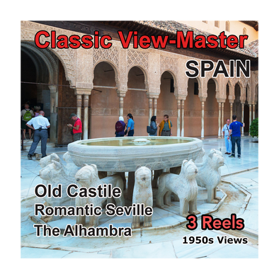 SPAIN - Vintage Classic View-Master - 1950s views