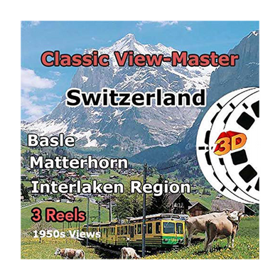 Switzerland - Vintage Classic View-Master® - 1950s views