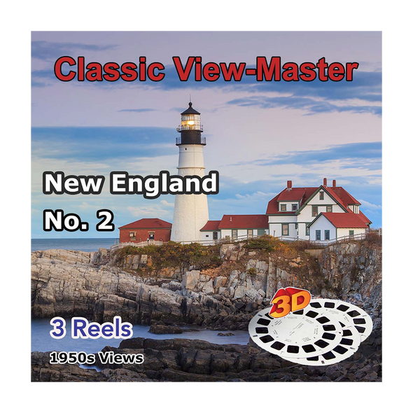 New England No. 2 - Vintage Classic View-Master - 1950s views