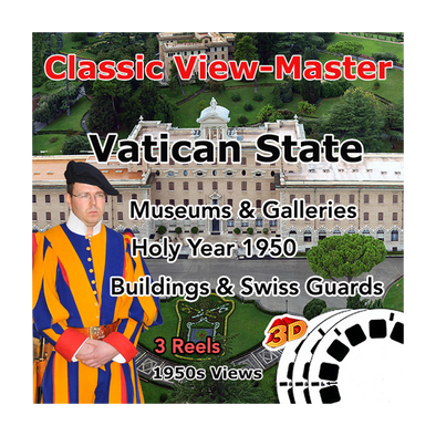 Vatican State - Vintage Classic View-Master - 1950s views