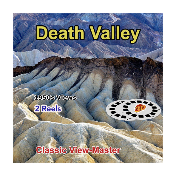 Death Valley National Monument - 2 Vintage View-Master - 1950s views