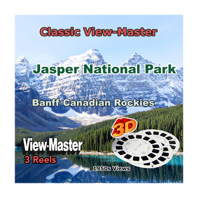 Jasper National Park and Banf Canadian Rockies - Vintage Classic View-Master® - 1950s views