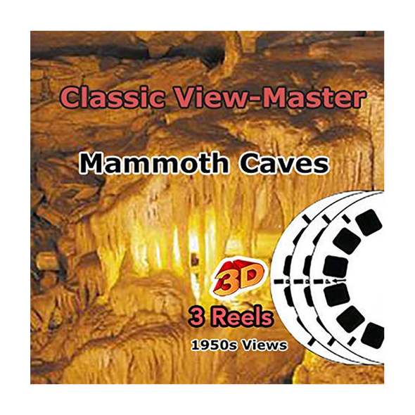 Mammoth Cave  National Park, Kentucky - Vintage Classic View-Master - 1950s views