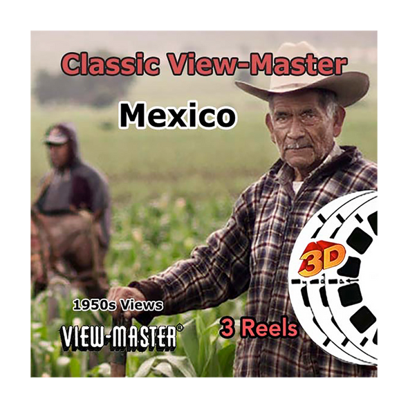 Mexico  - Vintage Classic View-Master - 1950s views