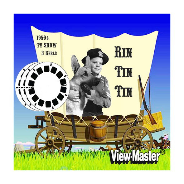 Rin Tin Tin  - Vintage Classic View-Master® - 1950s views