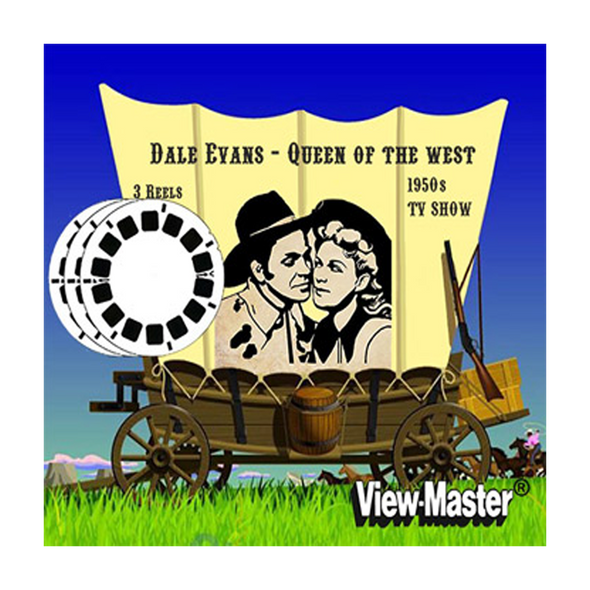 Dale Evans - Queen of the West  - Vintage Classic View-Master® - 1950s views