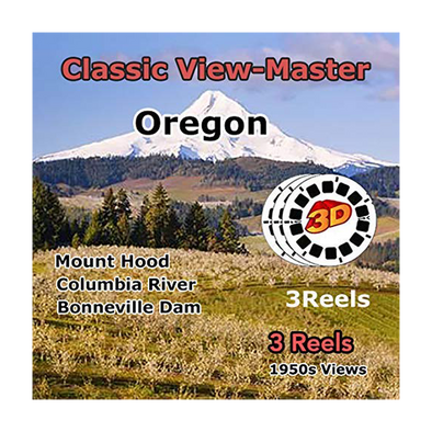Oregon - Vintage Classic View-Master - 1950s views