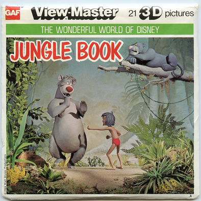 View-Master - Disney Movie - Jungle Book