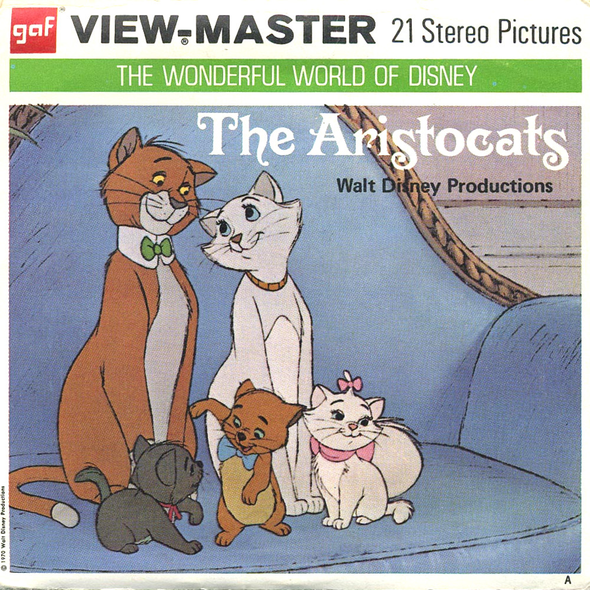 View-Master - Disney Movie - The Aristocats