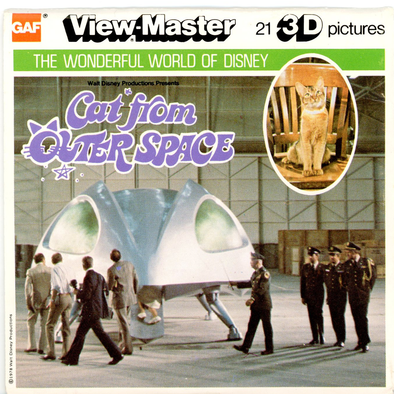 View-Master - Disney Movie - Cat from Outer Space