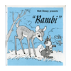 ViewMaster Bambi - B400 - Vintage Classic   - 3 Reel Packet - 1970s Views