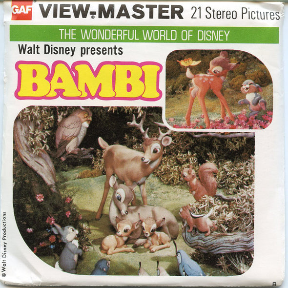 View-Master - Fairy Tales - Bambi