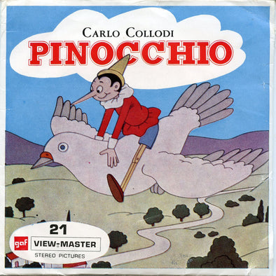 View-Master - Disney Movie - Pinocchio