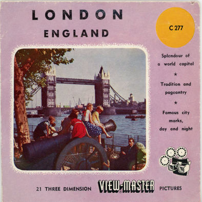 View-Master - Europe - London - England
