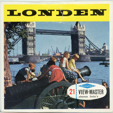 View-Master - Europe - Londen