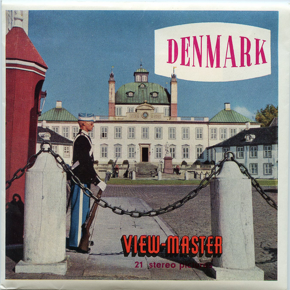 ViewMaster - Denmark - C480 - Vintage Classic - 3 Reel Packet - 1960s views
