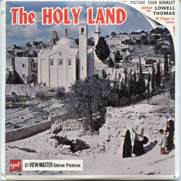 View-Master - Mid East - The Holy Land