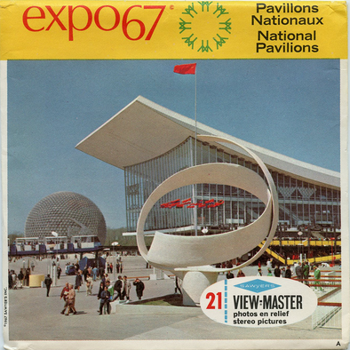 View-Master - World's Fair - Expo 67 - National Pavilions
