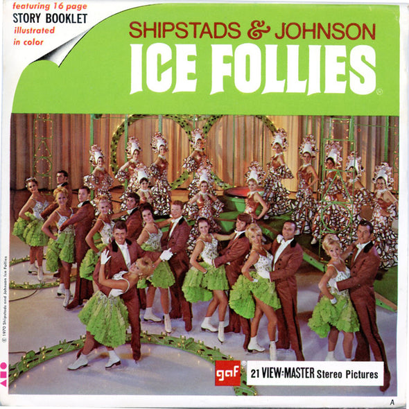 Shipstads & Johnson Ice Follies - B776 - Vintage Classic View-Master 3 Reel Packet - 1970s