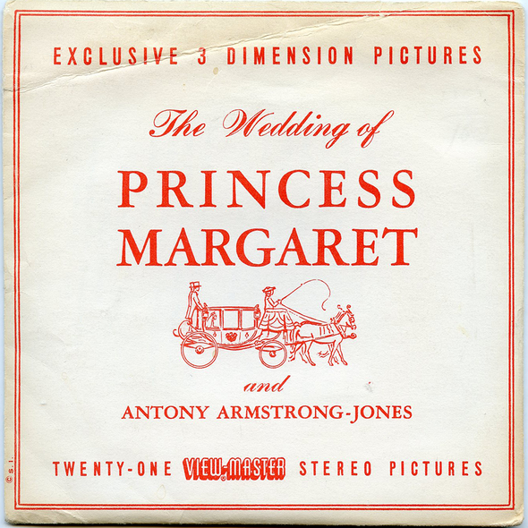 View-Master - Events - Wedding of Princess Margaret