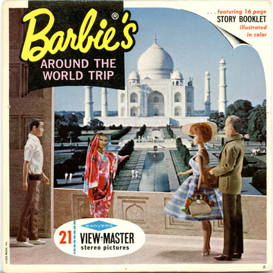 View-Master - Fairy-Tales - Barbie's Around the World trip