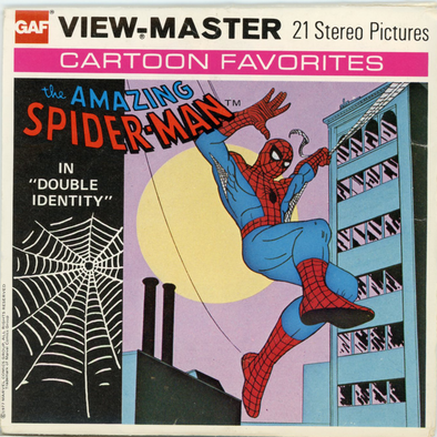 View-Master - Super Heroes- The Amazing Spider-Man