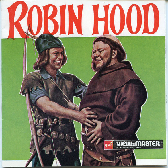 Robin Hood - B378 - Vintage Classic View-Master - 3 Reel Packet - 1970s views