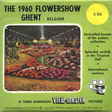 View-Master - Events - Flowershow Ghent - Belgium