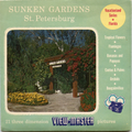 Sunken Gardens, St. Petersburg - Vintage Classic View-Master(R) 3 Reel Packet - 1950s views
