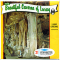 Beautiful Caverns of Luray - Virginia - Vintage Classic View-Master® - 3 Reel Packet - 1960s Views