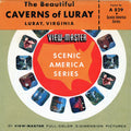 Beautiful Caverns of Luray - Virginia - Vintage Classic View-Master - 1960s