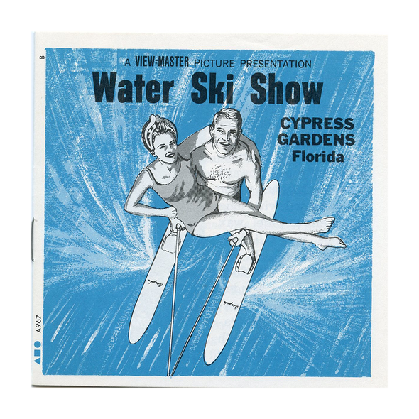 ViewMaster - Cypress Gardens - Water Ski Show - A967 - Vintage Classic  - 3 Reel Packet - 1970s Views