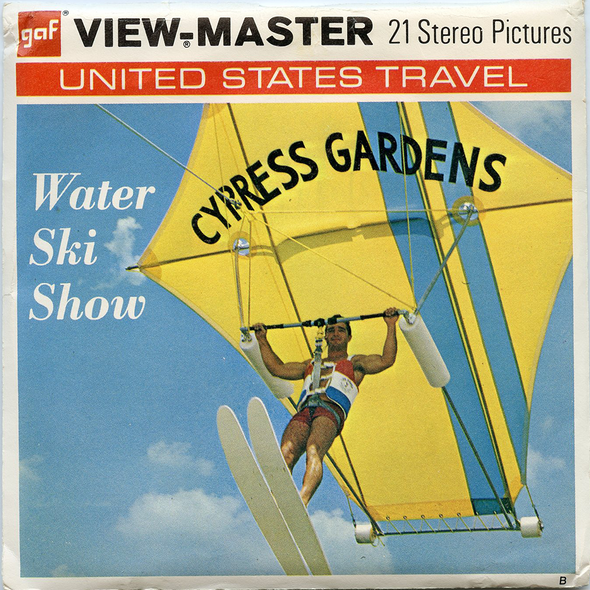 View-Master - Scenic South - Cypress Gardens