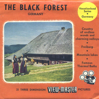 ViewMaster Black Forest - Germany - Vintage Classic - 3 Reel Packet - 1950s views