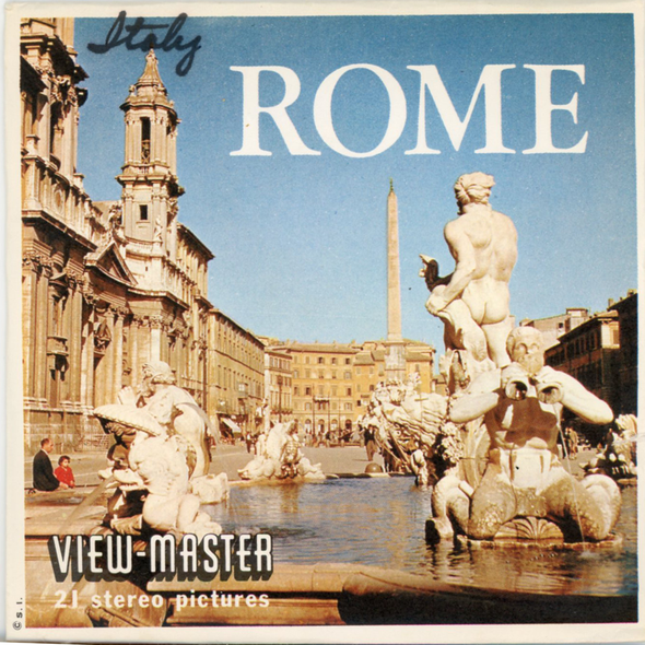 View-Master - Italy - Rome