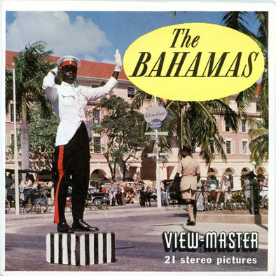 Bahamas - Vintage Classic View-Master 3 Reel Packet - 1960s views