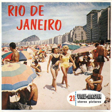 ViewMaster - Rio De Janeiro, Brazil - B058 - Vintage - 3 Reel Packet - 1960s views