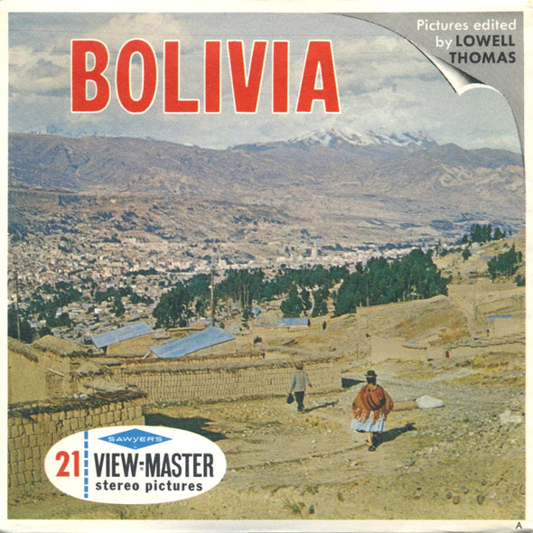 Bolivia - Vintage Classic - B082 - View-Master 3 Reel Packet - 1960s views
