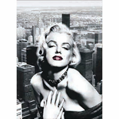 Marilyn Monroe - Triple Views - 3D Action Lenticular Poster - 12x16 - 3 Prints in 1