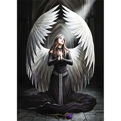 Gothic Angels - Triple Views - 3D Action Lenticular Poster - 12x16 - 3 Prints in 1