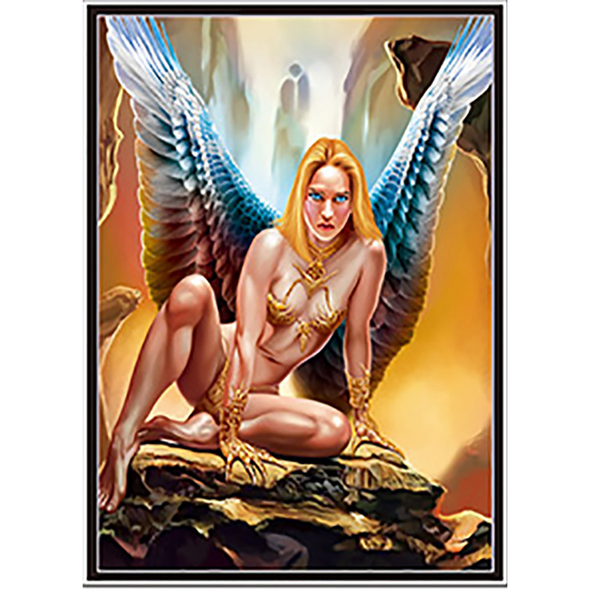 Fallen Angels  - Triple Views - 3D Action Lenticular Poster - 12x16 - 3 Prints in 1