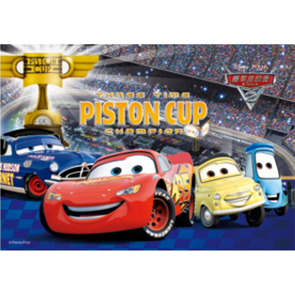 Disney Cars 2 - Piston Cup - 3D Lenticular Poster - 10x14