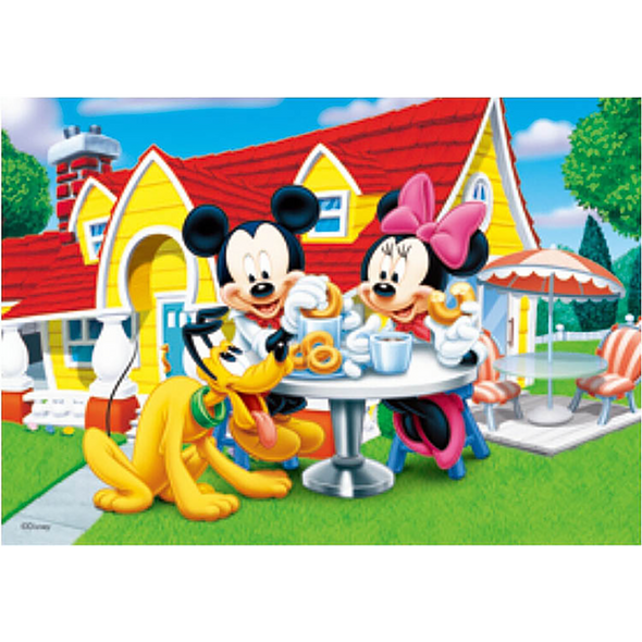 Mickey Mouse, Minnie Mouse and Pluto - Disney - 3D Lenticular Poster - 10x14