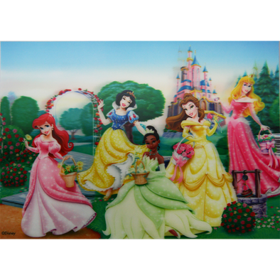 Disney Princesses - In the Garden - 3D Lenticular Poster - 10x14