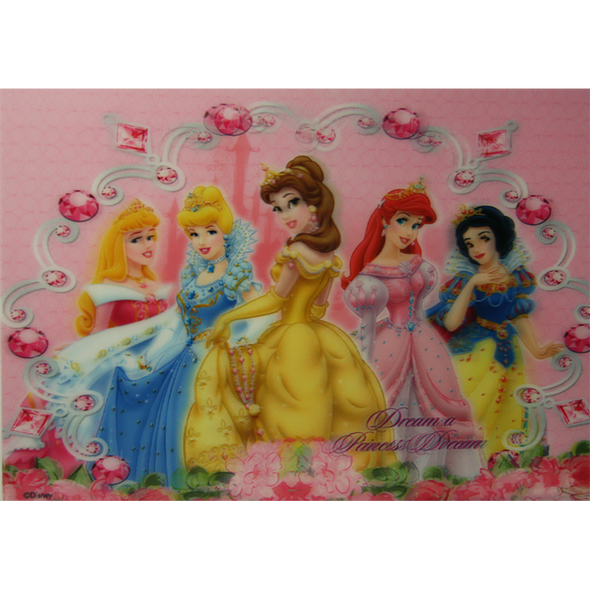 Disney Princesses - Dream a Princess Dream - 3D Lenticular Poster - 10x14