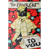 Black Cat Happy Birthday To You - 3D Action Lenticular Postcard Greeting Card